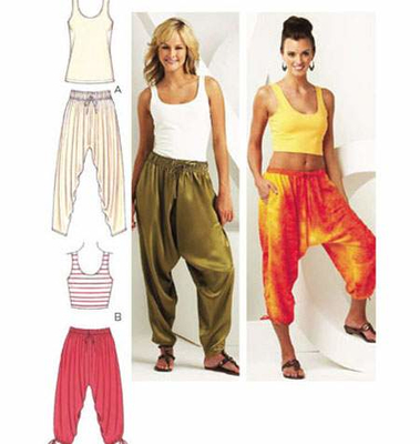 Sewing Pattern KwikSew  Misses Pants & Tops
