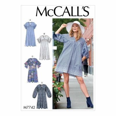 Schnittmuster McCalls 7742 jugendliches Sommerkleid, Tunika ...