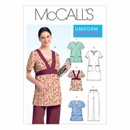 Sewing pattern McCalls 5895 workingclothes