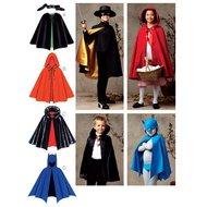 Sewing pattern KwikSew 3723 Unisex Childrens Capes...