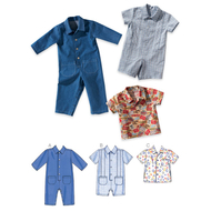 Sewing pattern KwikSew 3730 Babies Overalls & Shirts...