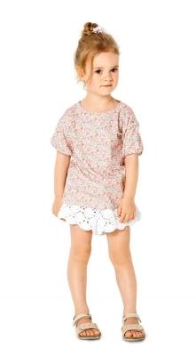 Gr 98-128 Schnittmuster Burda 9322 Shirt für Jungen und Mädchen