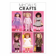 Sewing pattern McCalls 6005 dolls