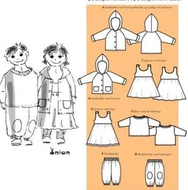 Sewing Pattern Onion 10009 Baby sizes 68-74-80-86