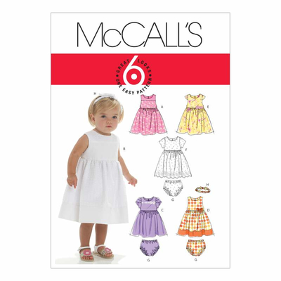 Sewing pattern McCalls 6015 combi