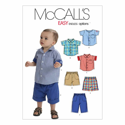 Sewing pattern McCalls 6016 combi