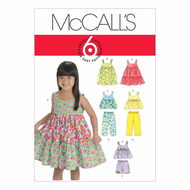 Sewing pattern McCalls 6017 combi