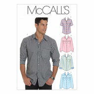 Sewing pattern McCalls 6044 Shirts