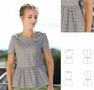 Schnittmuster pattern company 03-925 Shirtbluse mit...