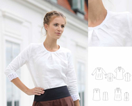 Schnittmuster pattern company 03-921 Shirtbluse mit...