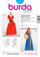 Sewing Pattern Burda 7468 carneval sizes 36-54 (10-28)