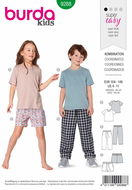 Schnittmuster Burda 9288 Bequemhose bequeme Kindershirts...
