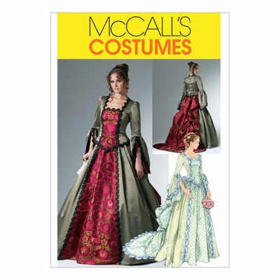 Sewing Pattern McCalls 6097 carneval