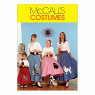 Sewing Pattern McCalls 6101 carneval
