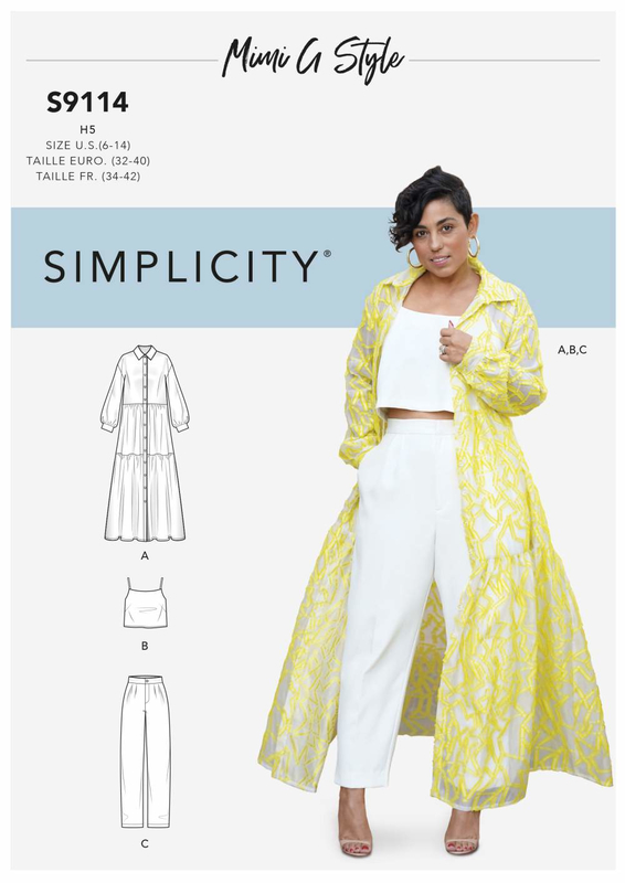 Simplicity Schnittmuster 4092/HH Schnittmuster Kost/üme