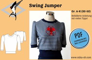 ebook Schnittmuster PDF Mika Oh Vintagepullover Swing...
