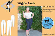 ebook Schnittmuster PDF Mika Oh Wiggle Pants, Caprihose...