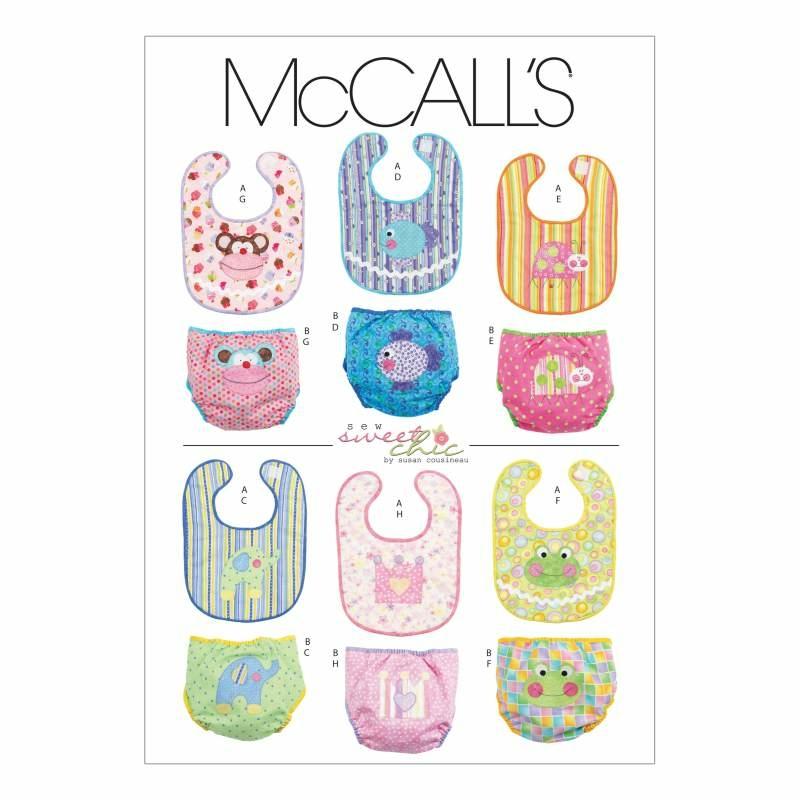Schnittmuster McCalls 6108 Baby bei Schnittmuster.Net ...
