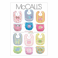 Schnittmuster McCalls 6108 Baby A Newborn-S-M-L
