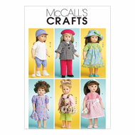 Sewing Pattern McCalls 6137 dolls