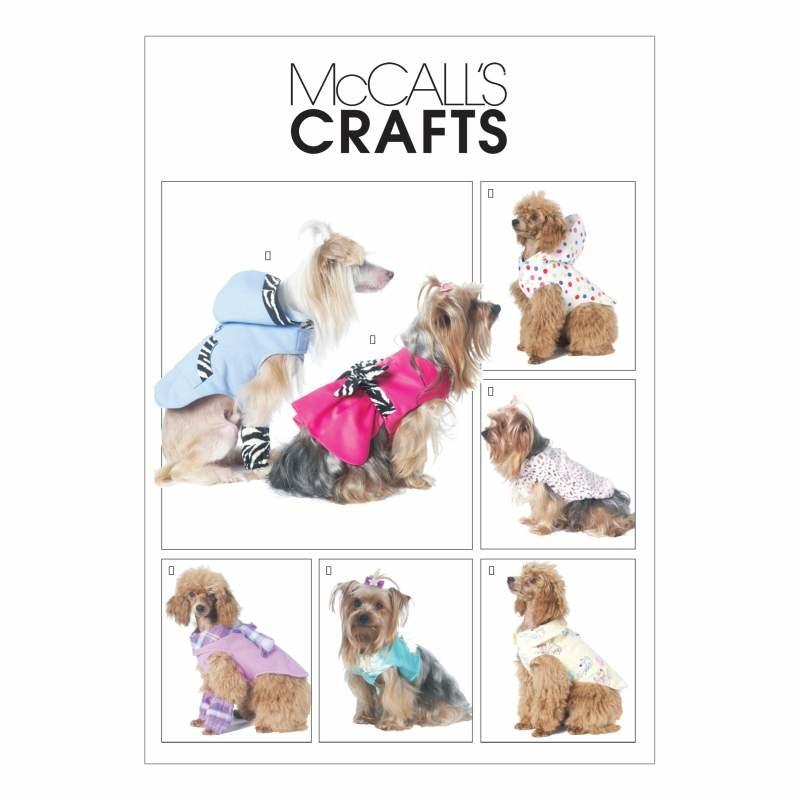 Schnittmuster McCalls 6218 Hundebekleidung bei Schnittmuster.Net ...