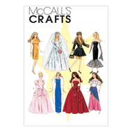 Sewing Pattern McCalls 6232 dolls
