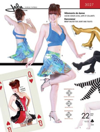 sewing pattern Jalie 3027 dancewear