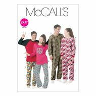 Sewing Pattern McCalls 6251 nightwear