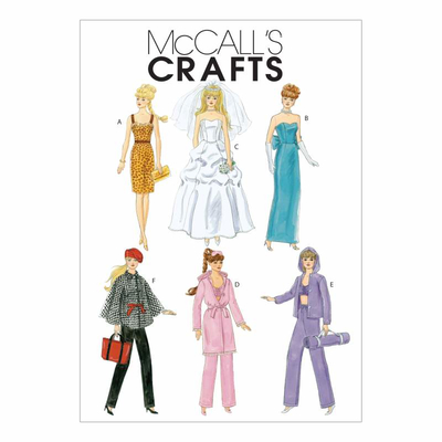 Sewing Pattern McCalls 6258 dollsdress