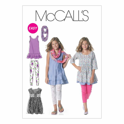 Sewing Pattern McCalls 6275 combi