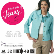 Sewing Pattern Butterick 5616 jacket