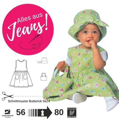 Schnittmuster Butterick 5624 Baby bei Schnittmuster.Net ...