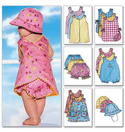 Sewing Pattern Butterick 5625 Baby