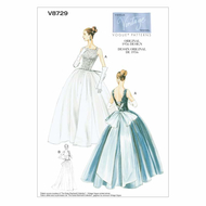 Sewing Pattern Vogue 8729 dress