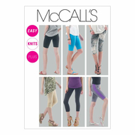 Schnittmuster McCalls 6360 Leggings Gr. 32-50