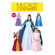Sewing Pattern McCalls 6420 costumes