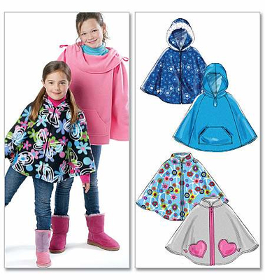 Sewing Pattern McCalls 6431 cape