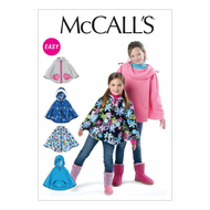 Schnittmuster McCalls 6431 Poncho