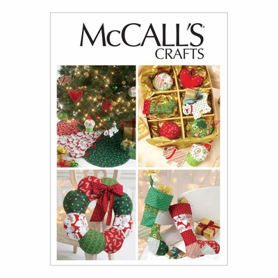 Sewing Pattern McCalls 6453 christmas