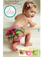 Sewing pattern KwikSew 0102 diaperpants XS-S-M-L-XL...