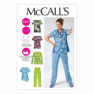Sewing Pattern McCalls 6473 Combi