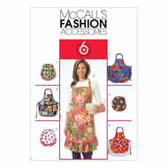 Sewing Pattern McCalls 5284 Apron