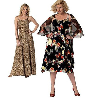 100% authentic 0bd1c 7fb51 Schnittmuster Butterick 5761 Kleid Gr. Miss XSM-XL 4-16 (30-42) oder Woman  XXL-1X-6X 18-44 (44-68)