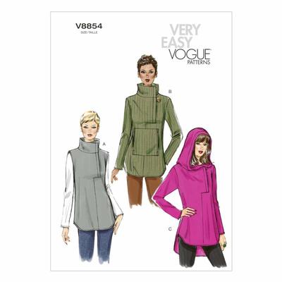 Schnittmuster Vogue 8854 Tunika bei Schnittmuster.Net ...