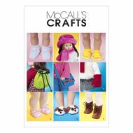 Sewing Pattern McCalls 3469 Dolls