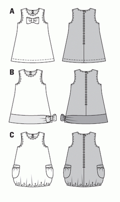 Schnittmuster kleid 122