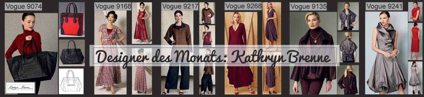 Tolle Designerschnitte von Vogue Patterns